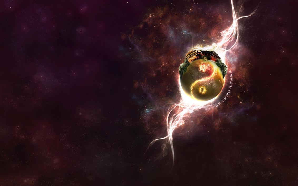 The shaolin galaxy by M1LLAH