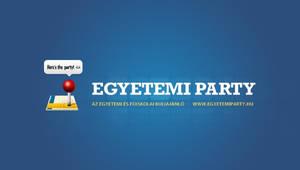 Egyetemi Party logo