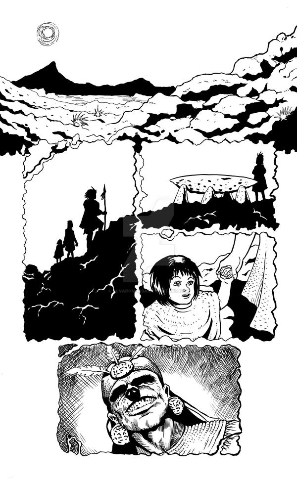 Whispers from the desert pg 1 by AlvaroMurga