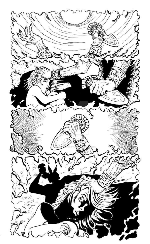 Whispers from the desert pg 3 by AlvaroMurga