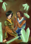 GB Zutara: crystal catacombs