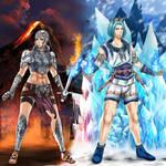 Fire and Ice by VertigoR