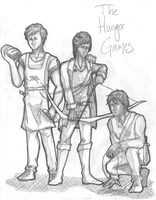 HTP - The Hunger Games by 1Jade2