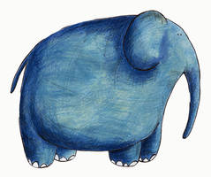 elephant by Euchariss