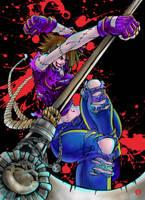 Commission 36 - Blade Zombie by shonemitsu