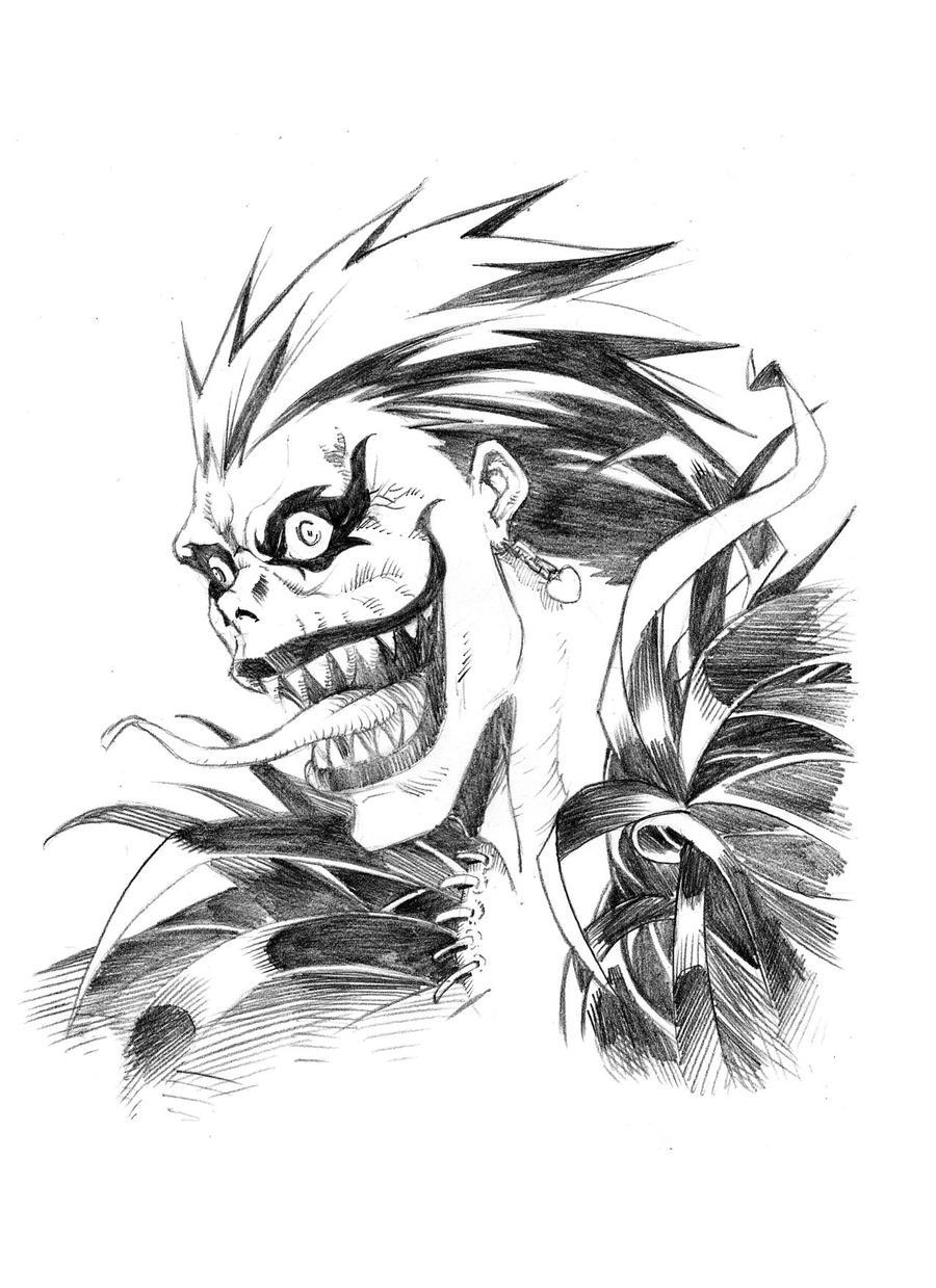 Ryuk - Death Note by shonemitsu on DeviantArt