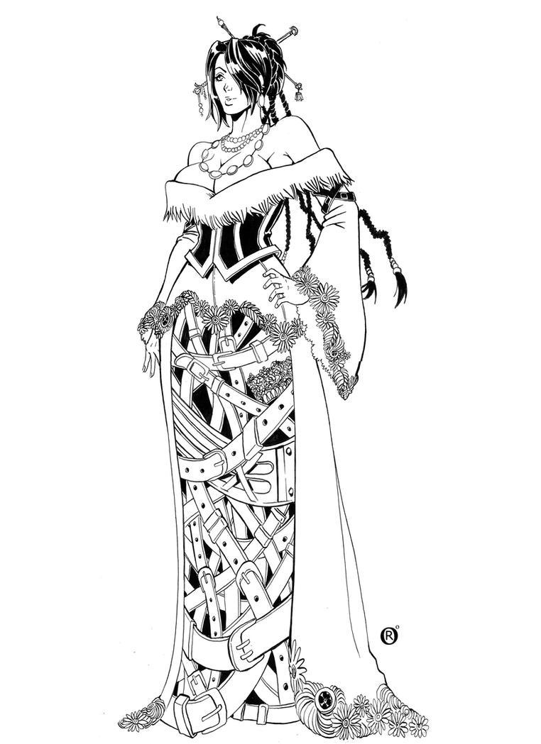 Lulu - Final Fantasy X by shonemitsu