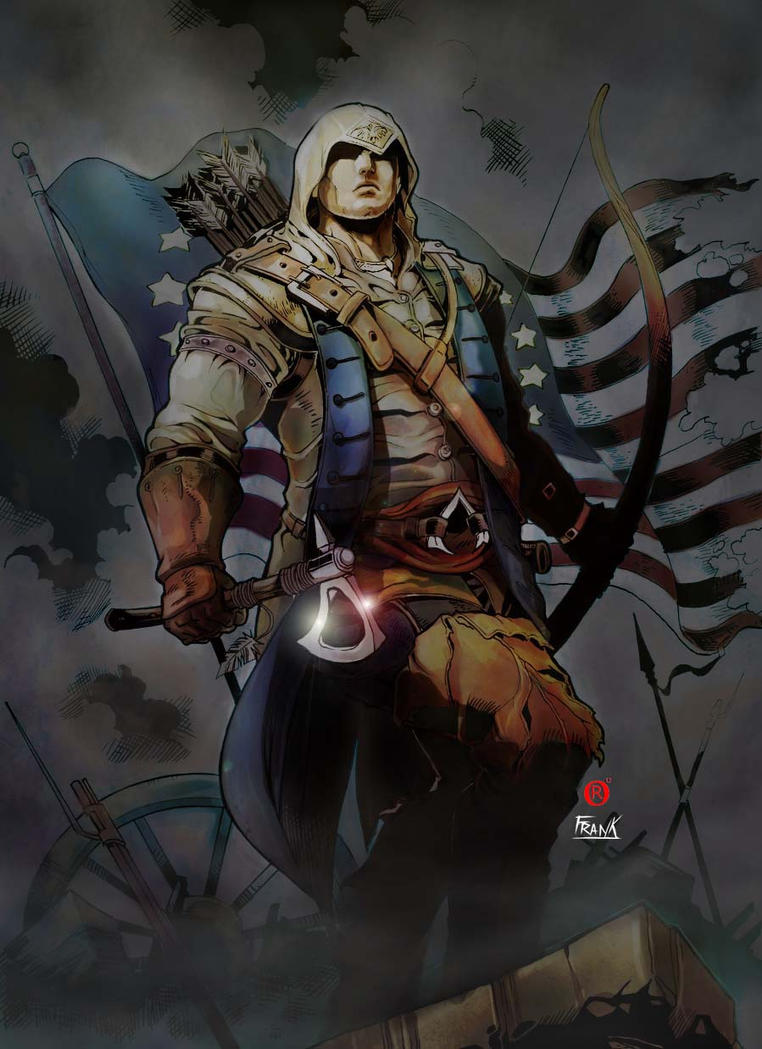 Assassins Creed 3 - Collab by shonemitsu
