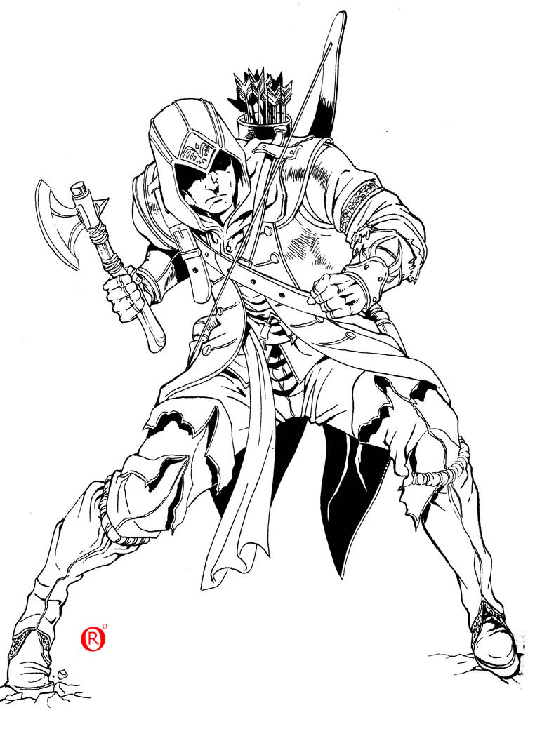 Assassins Creed 3 - Drawn Project by shonemitsu on DeviantArt