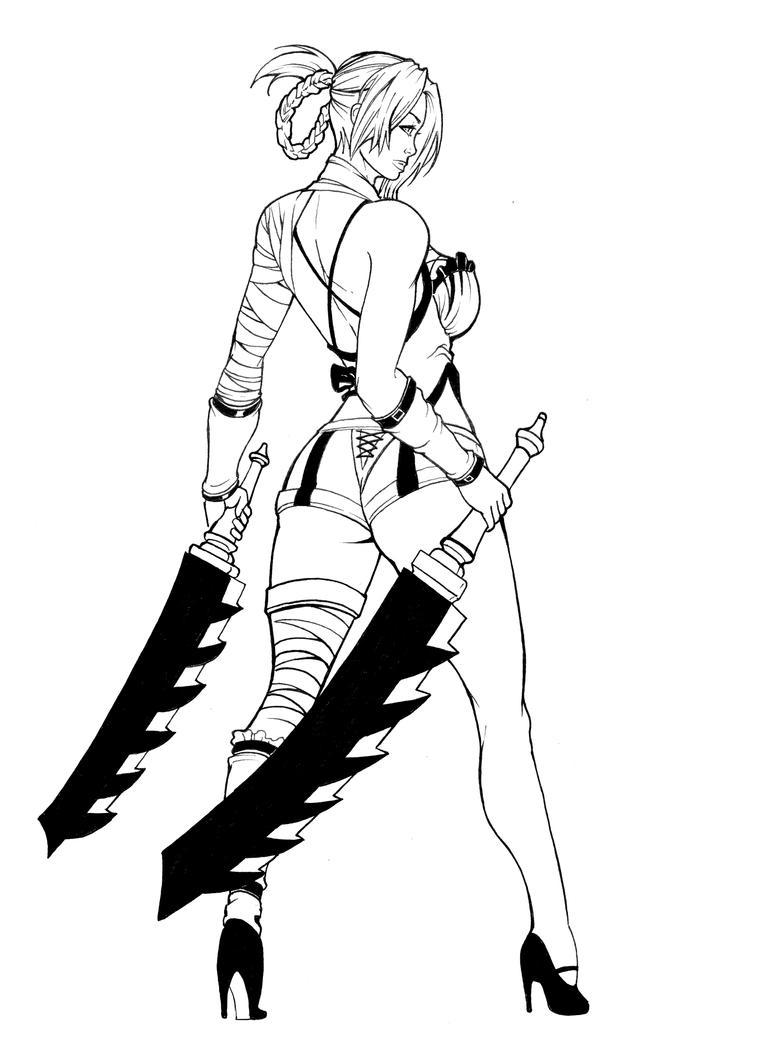 Kaine -Nier by shonemitsu on DeviantArt