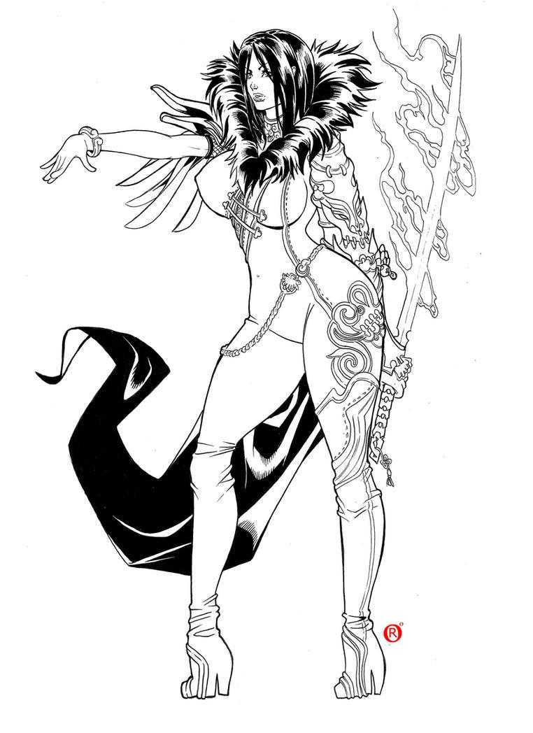 Blade and Soul Fanart by shonemitsu
