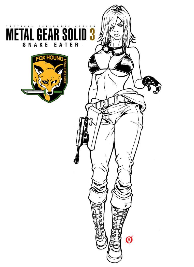 EVA - Metal Gear 3 by shonemitsu