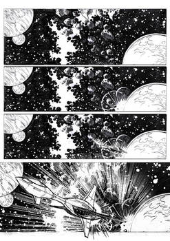 Commission Comic Page Science fiction