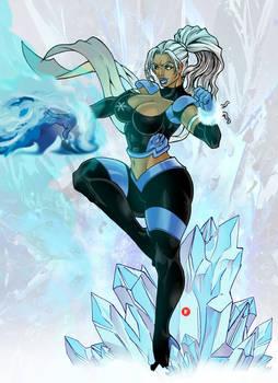 Commission Ice Girl Hero