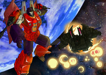 Commission - Transformers Battle