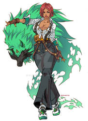 Giovanna - Guilty Gear Strive Commission