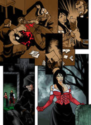 Special Commission - Nightmare Creature Comics P3