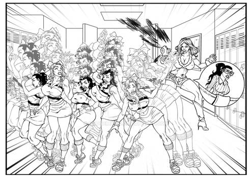 Commission Shrinking the cheerleaders