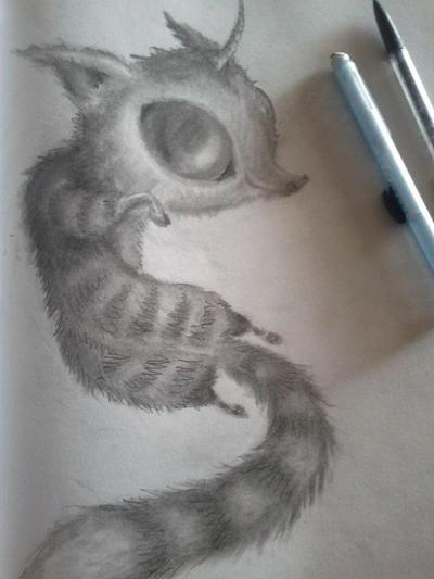 Art Night Beastie by LilMejium