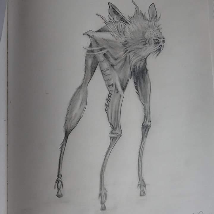 Landstrider Jim Henson Fan Art ( Dark Crystal ) by LilMejium