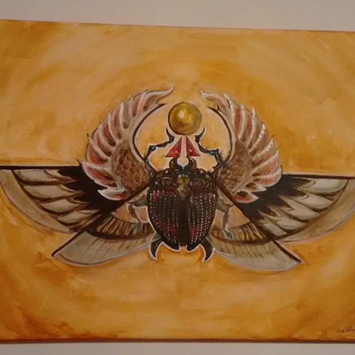 da Vinci Scarab by LilMejium