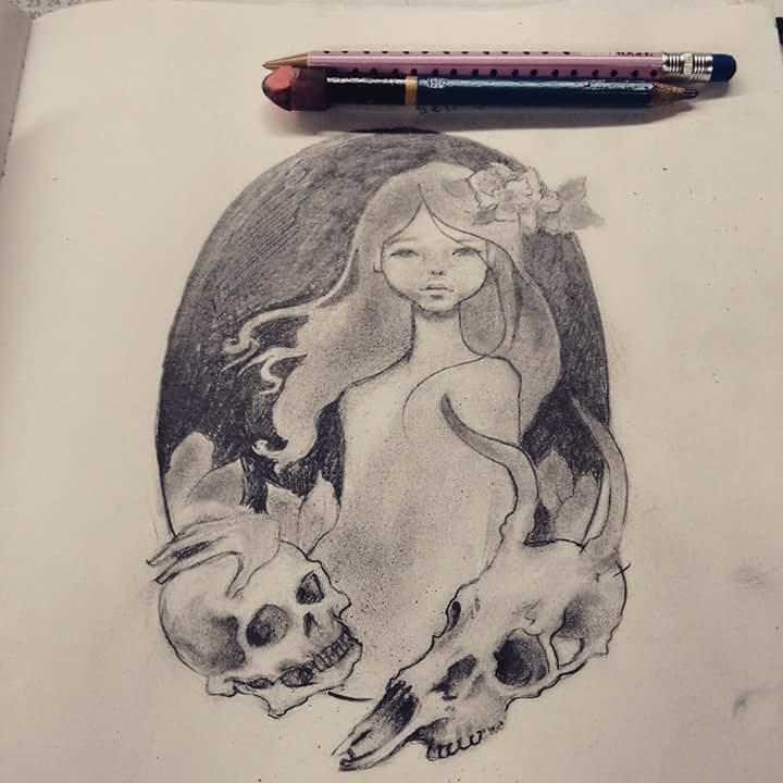 i seldom do Audrey Kawasaki fan art by LilMejium