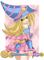 Echii Dark Magician Girl by NarutoMax