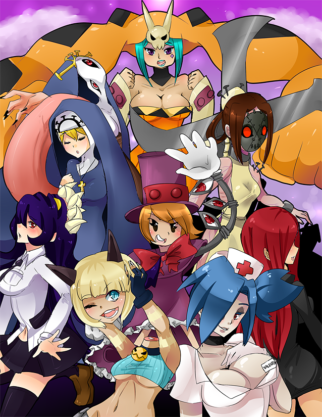 Skullgirls by Shioiri