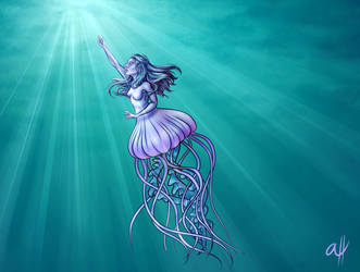 Jellyfish by ArtByAlissa