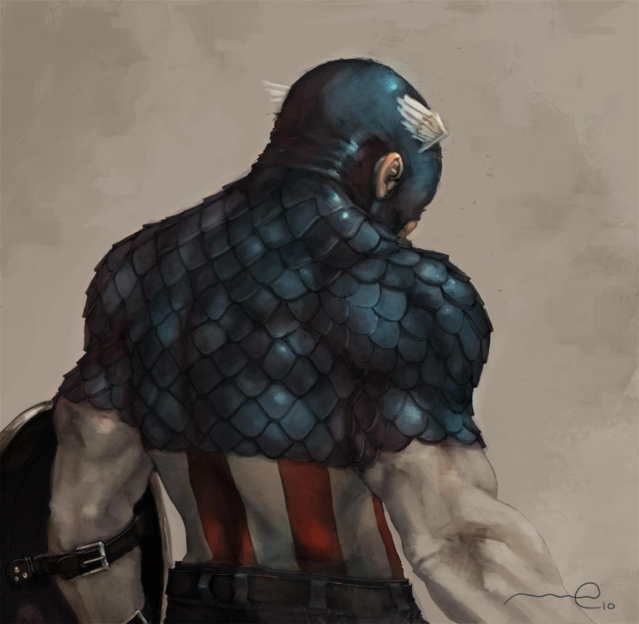 Captain America by CoNfUsE-D