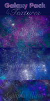 4 Galaxy/Space/Nebula Textures by Bublla