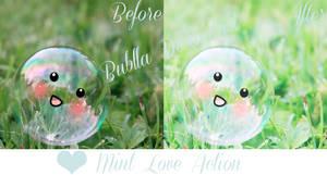 Mint Love Photoshop Action