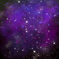 Galaxy Texture by Bublla