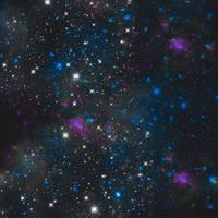 Galaxy Texture 2 by Bublla