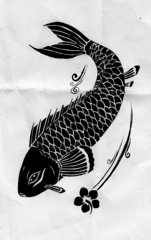 Koi Fish Tattoo Design by Aylagigacz on DeviantArt