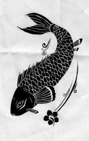Koi Fish Tattoo Design by Aylagigacz on DeviantArt