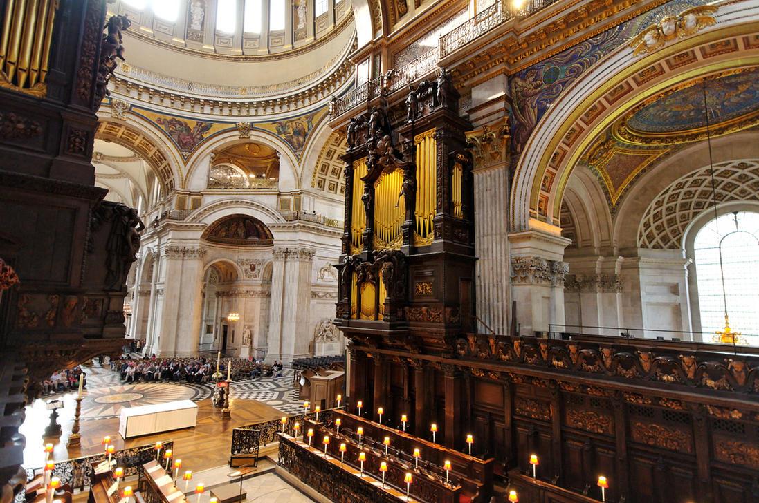 St Paul's Organ Loft by squareonion on DeviantArt