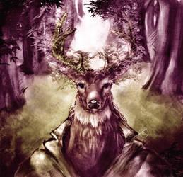 Forest Elder by Jruva