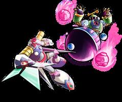 Collab: Tengu and Astro Man by Jruva