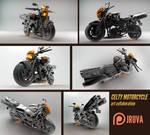 Durarara- Celty Motorcycle 3D