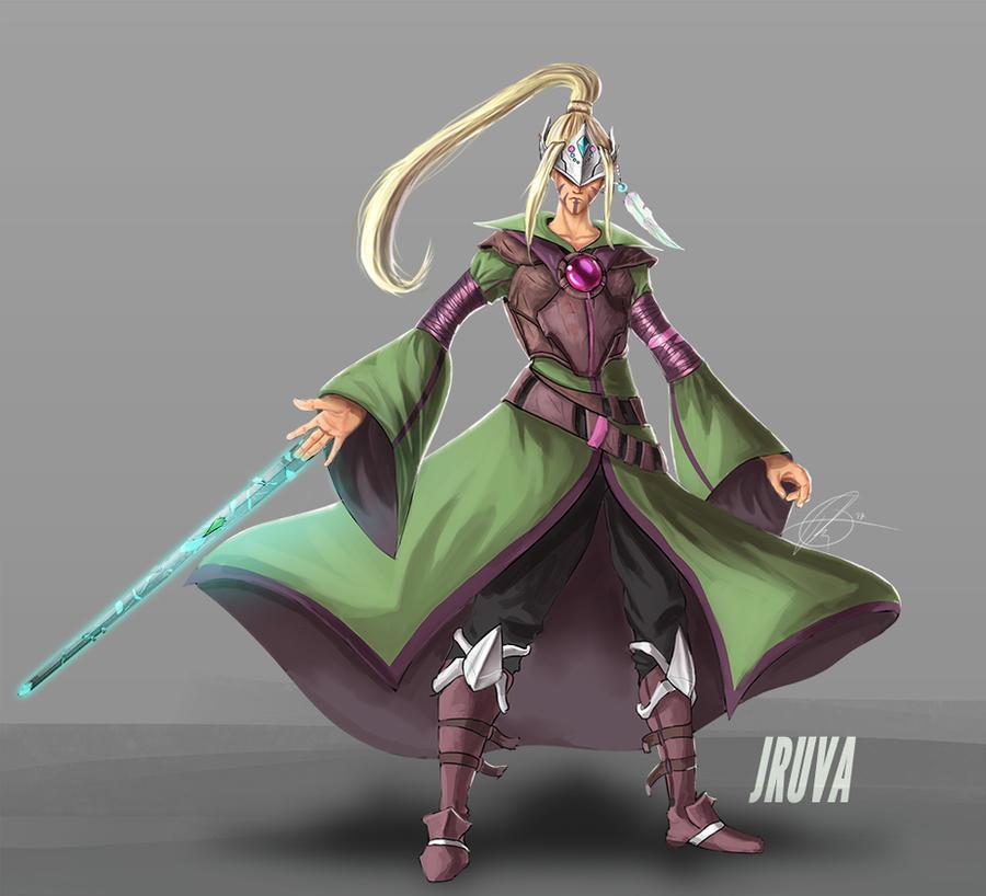 DnD high-elf : Kainos by Jruva
