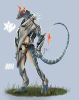 DnD Sorcerer : Asthir by Jruva