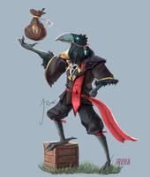 DnD Kenku Rogue Merchant : Fane by Jruva