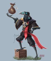 DnD Kenku Rogue Merchant : Fane