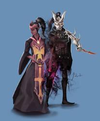 DnD Tiefling Rogue / Warlock: Yanlis