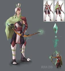 Keun'dol redesign: DnD Ranger / Sorcerer