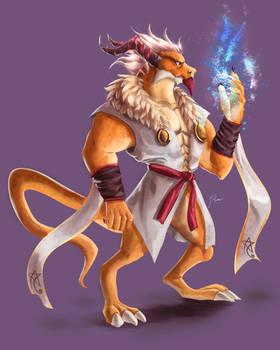 DnD DragonBorn / Elder Dragon : Ezteorrah