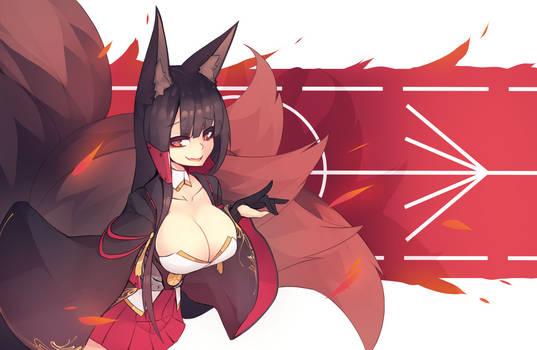 Azurlane: Akagi by sub-res