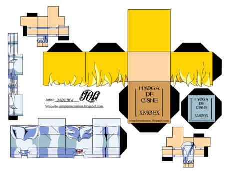 Hyoga De Cisne2 - Cubeecraft