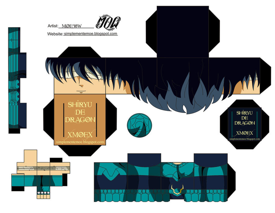 Shiryu De Dragon-Cubeecraft